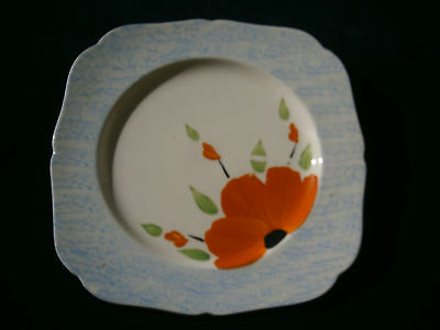 Deco Plate by H&K Tunstall England-Poppy Lot 1