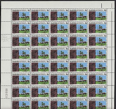 1970 Dairy Congress left pane of 50, variety, mnh