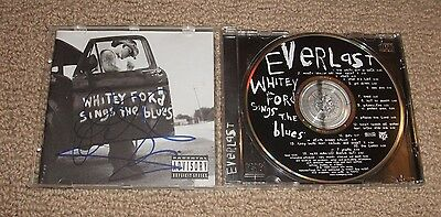 EVERLAST - WHITEY FORD SINGS THE BLUES CD *Signed* Autographed! Rapper