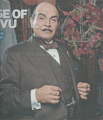 David Suchet Poirot  Agatha Christie Uk 2014