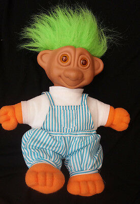 Vintage Troll Doll with Light up Eyes 30 cm