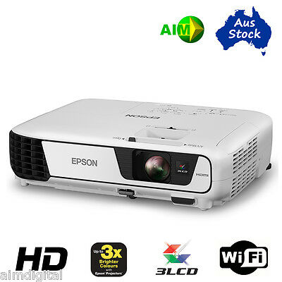 EPSON EB-U32 Full High Def Projector with Wireless, 2 year Warranty, Aus stock