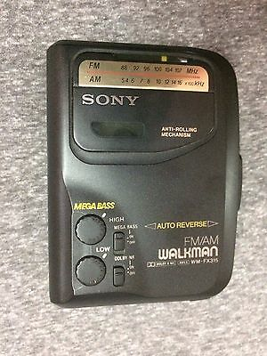 sony walkman WM-FX315 vintage mega bass cassette player