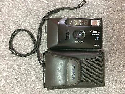 Kyocera Yashica Minitec AF Compact Point & Shoot Auto-Focus 32mm Film Camera