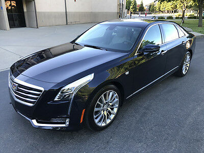 2017 Cadillac CT6 2.0L Luxury Sedan 4-Door 2017 CADILLAC CT6 2.0L LUXURY, ONLY 10K MI, DON'T MISS!