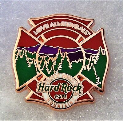Hard Rock Cafe Pigeon Forge Great Smoky Mountains Wildfire Charity Pin # 93474