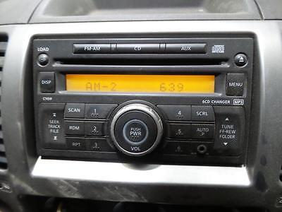 Nissan Navara Radio/cd/dvd/sat/tv D40 (Vin Mnt), 6 Stack Cd Player, 12/05-08/15