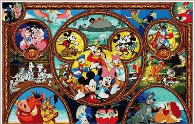 Disney Heroes (20) Cross Stitch Chart