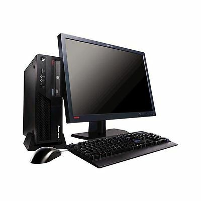 ULTRASLIM!! LENOVO THINKCENTRE M58 DUAL-CORE 2GB RAM 250GB HD Windows 7 Pro x64