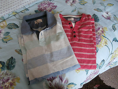 Mens small bundle two mens cotton summer shirts from M & S size large