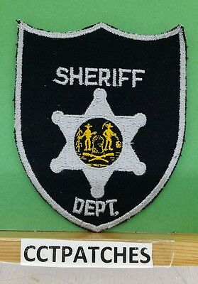 West Virginia Sheriff (Police) Unknown Shoulder Patch Wv