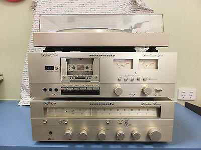 Marantz Set - Stereo Cassette Deck, Stereophonic Receiver and Belt Drive System