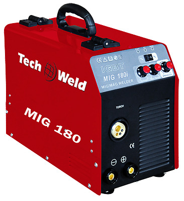 NEW Techweld 180I Portable Inverter MIG / MMA Welder