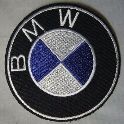 BMW Motor Super Car EMBROIDERY IRON ON PATCH Sew Germany Drive Series 3 Fast 007