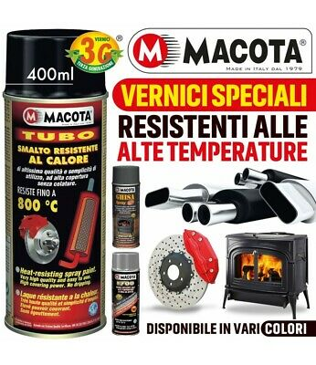 Macota Vernice Spray Alte Temperature Pinze Freno Tuning Marmitte Tubo Stufa