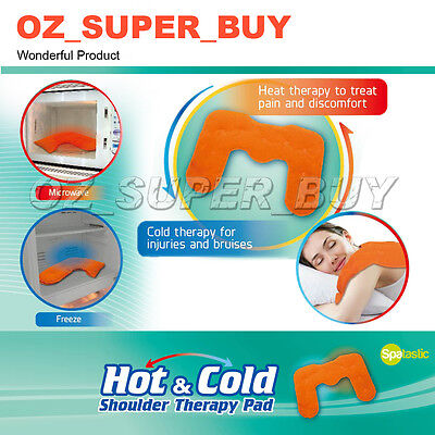 Gel Shoulder Wrap Hot & Cold Microwaveable Heat Pad 45x31cm AU STOCK