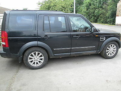 Landrover Discovery 3 Spares Or Repair 2007 2.7 Se Auto 142K Java Black