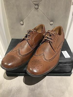 Men's UK 12 Asos Brown Derby shoes