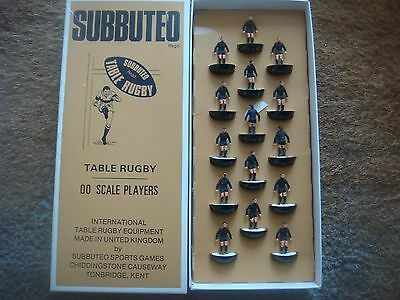 Boxed SUBBUTEO TABLE  R 5 All Blacks New Zealand Lightweight Rugby Team