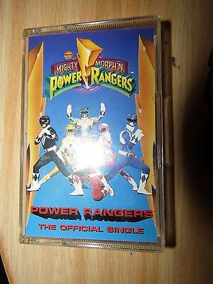 Music Cassette [Power Rangers] The Official Single