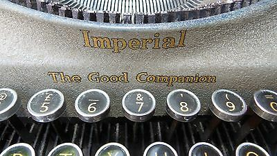 Antique Imperial The Good Companion Typewriter
