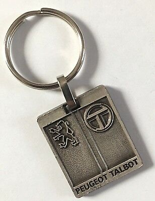 Porte Clés Key Ring PEUGEOT TALBOT Garage Ledoux Illkirch Graff Old Keychain