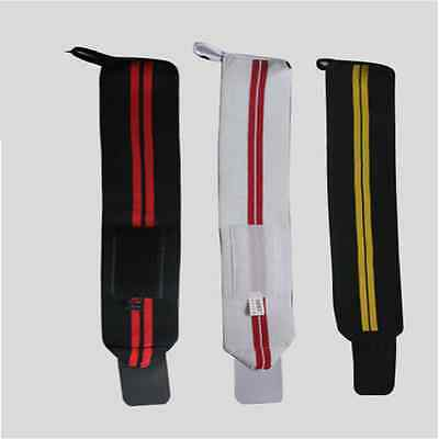 Weight Lifting Fitness Gym Sports Wrist Wraps Bandage Hand Support Straps S9S9L