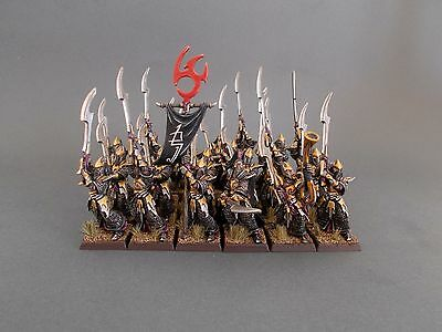 PRO PAINTED Executioners Warhammer Age of Sigmar Darkling Covens Dark Elf Elves