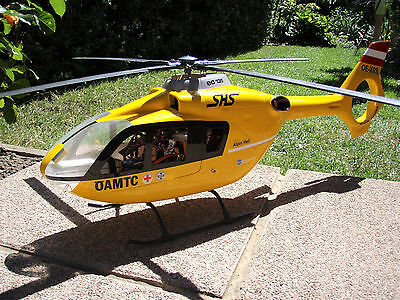 EC-135 ÖAMTC Version inkl.450er Mechanik -RTF- mit Sender