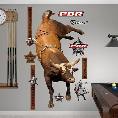 PBR Bushwacker Wall Decal Sticker 51 x 90in