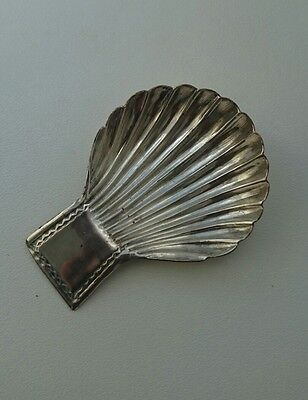 Antique Georgian Old Sheffield Plate Caddy Spoon