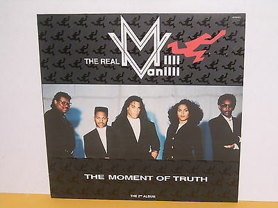 Lp - The Real Milli Vanilli - The Moment Of Truth