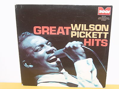 Lp - Wilsonpickett - Great Hits