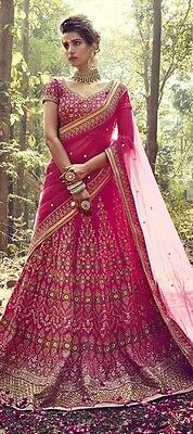 Indian Bollywood Designer Pakistani Bridal Lehenga Choli Wedding Party Wear