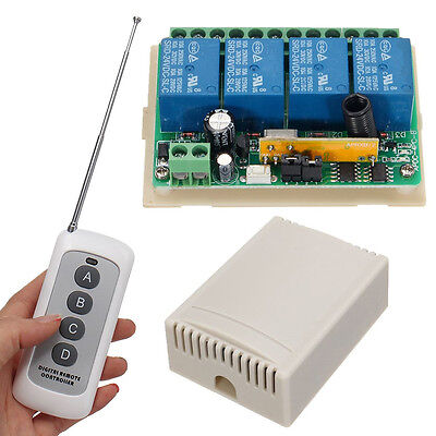 10A DC 24V Wireless Remote Control Motor Switch Controller For Linear Actuator