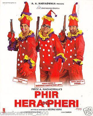 Phir Hera Pheri Press Book Bollywood Akshay Kumar,