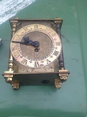 vintage Smiths brass 8 day clock spares repairs