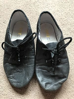 Girls Black Dance Shoes Size 11