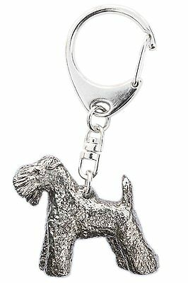Kerry Blue Terrier Made in U.K Artistic Style Dog Key Ring Collection
