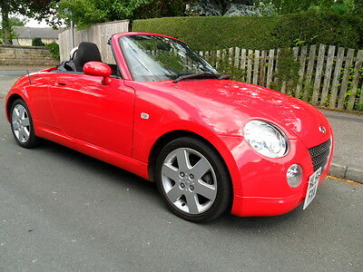 2004 54 Daihatsu Copen - Imperial Red-Black Sport Cloth-Power Roof-21000 Miles++
