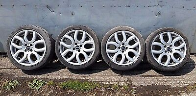 MINI Cooper Alloy Wheels and Tyres Genuine Flame 17''