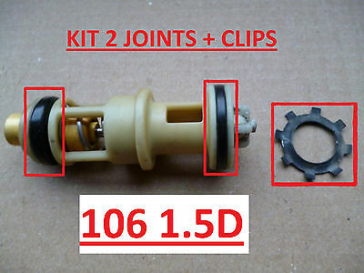 Kit 2 joints + circlips + notice neuf 106 1.5D fuite support filtre à gasoil