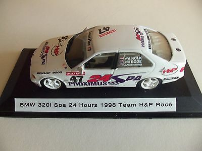 1/43 BMW 320i Spa 24 Hours 1998 custom code 3 umbau n/dtm