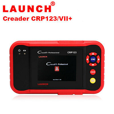AU LAUNCH Creader CRP123 OBDII Scan Diagnostic Tool Code Reader ABS SRS Engine
