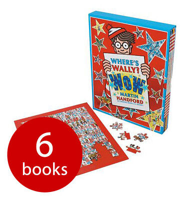 Where's Wally WOW Collection - 6 Books & Jigsaw