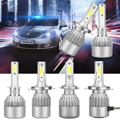 H1 H4 H7 H11 110W 20000LM LED Headlight Conversion Kit Car Beam Bulbs 9005 9006