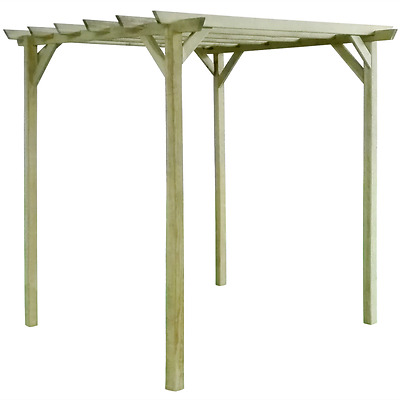 Garden Wooden Pergola Shed Patio Outdoor Arbour Shelter Climbing Plant Support