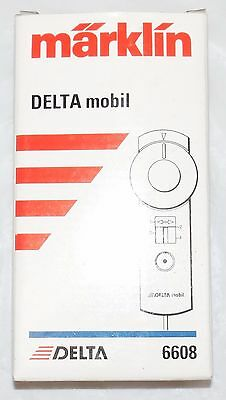 Marklin 6608	Delta Mobil Hand Controller for the Delta Station