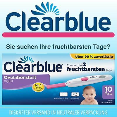 Clearblue Digitaler Ovulationstest, 10 Stück