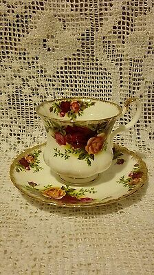 Vintage Royal Albert Old Country Roses Cup & Saucer Set New